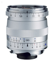 Zeiss Biogon T* 21mm F2.8 ZM Lens Silver (New)
