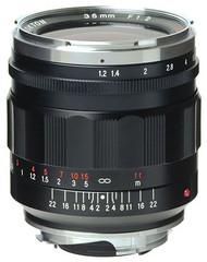 Voigtlander Nokton M 35mm F1.2 Asph II Lens (New)