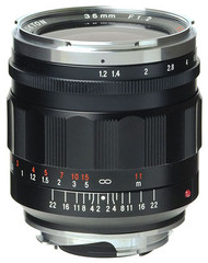 Voigtlander Nokton M 35mm F1.2 Asph II Lens *Now in Stock
