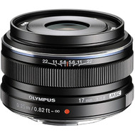 Olympus M. Zuiko Digital 17mm F1.8 Lens Black (New)