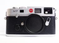 Leica M7 TTL 0.72 Silver Chrome Body (New)