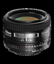 Nikon AF 50mm F1.4D Lens (New)