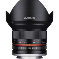 Samyang 12mm F2 NCS CS Lens for Fujifilm X mount (New)