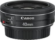 Canon EF 40mm F2.8 STM Lens (Used)