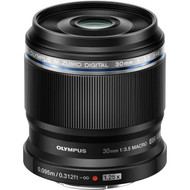 Olympus M. Zuiko Digital ED 30mm F2.8 Macro Lens (New)