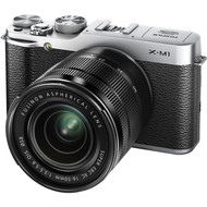Fujifilm X-M1 + XC 16-50mm Lens Kit - Silver (Demo)