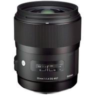 Sigma AF 35mm F1.4 DG HSM (A) EOS Lens (New)