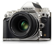 Nikon Df Silver Body with 50mm lens Kit (New)