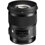 Sigma AF 50mm F1.4 DG HSM (A) Lens for Canon (New)