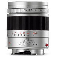 Leica Summarit-M 75mm F2.4 Silver - New (Now in Stock)