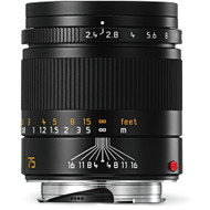 Leica Summarit-M 75mm F2.4 Black (New)