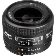 Nikon AF 28mm F2.8D Lens (New)