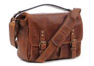 ONA Prince Street Italian Leather - Antique Cognac (New)