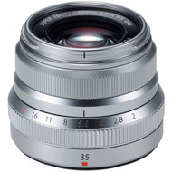 Fujinon XF 35mm F2 R WR Lens Silver (New)