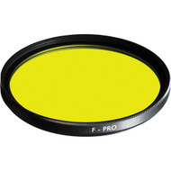 B+W 46mm F-Pro 022 Yellow filter light 495 MRC