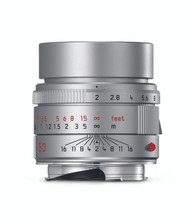 Leica APO-Summicron-M 50mm F2 ASPH Silver anodized Lens (New)
