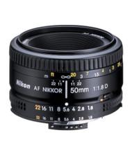 Nikon AF 50mm F1.8D Lens (New)