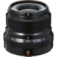 Fujinon XF 23mm F2 R WR Lens Black (New)