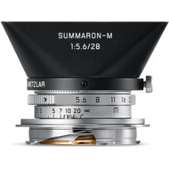 Leica Summaron-M 28mm F5.6 ASPH. Silver Lens (New)