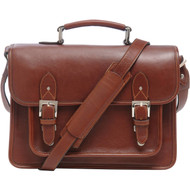 ONA Brooklyn Messenger Bag - Chestnut Leather (New)