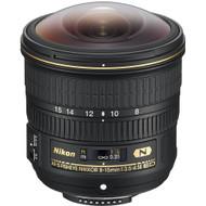 Nikon AF-S Fisheye Nikkor 8-15mm F3.5-4.5E ED Lens (New)