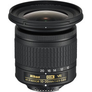 Nikon AF-P DX Nikkor 10-20mm F4.5-5.6G VR Lens (Brand New)