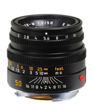 Leica 50mm F2 Summicron-M Lens (New)