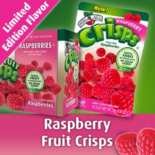 Raspberry Fruit Crisps