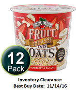 Fruit & Oats: Strawberry-Banana, 12-Pack