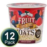 Brothers-All-Natural Fruit & Oats:  Mixed Berry, 12-Pack