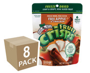 Brothers-All-Natural Apple Cinnamon Fruit Crisps larger, resealable bag!