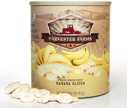 Harvester Farms Freeze-Dried Banana Slices #10 can