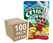 Brothers-All-Natural Clubhouse Pineapple Fruit Crisps, 1/2 c bags, 100-pack