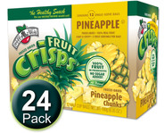 Brothers-All-Natural Pineapple Fruit Crisps, 1/2 c bags, 24-pack