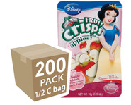 Disney Princess Apple Fruit Crisps 200 pack