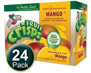 Brothers-All-Natural Mango Fruit Crisps, 1/2 c bags, 24-pack