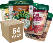 Choose your own 64 pack of fruit crisps and fruit clusters®