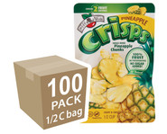 Brothers-All-Natural Pineapple Fruit Crisps, 1/2 c bags, 100-pack