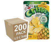 Brothers-All-Natural Pineapple Fruit Crisps, 1/2 c bags, 200-pack