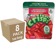 Strawberry Fruit Crisps, 1 oz. bags, 8-pack