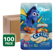 Finding Dory Disney Fruit Snack, freeze dried apple fruit crisps, 100 pack