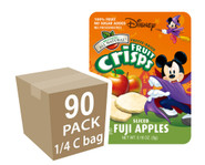 Halloween Mickey Mouse Apple Fruit Crisps, 90 pack