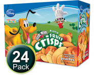 Disney Pluto Peach Fruit Crisps kid snacks