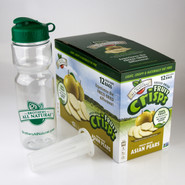 Asian Pears Fruit Crisps 12 pack Water Infuser Kit
