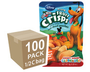 Disney Fruit Crisps, Pluto Peach, 1/2 cup bag