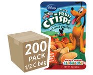 Disney Pluto Peach Fruit Crisps, 200 pack