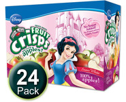 Princess Apple Fruit Crisps, 1/2 c bags, 24-pack