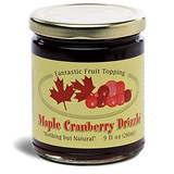 Homemade Maple Cranberry Drizzle by Sidehill Farm, Vermont