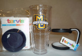 Tervis Tumblers-Custom Order--12/16/24 oz sizes, College Logos, Lids, Handles
