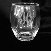 Acrylic Wine Glasses (Stemless) Set/4